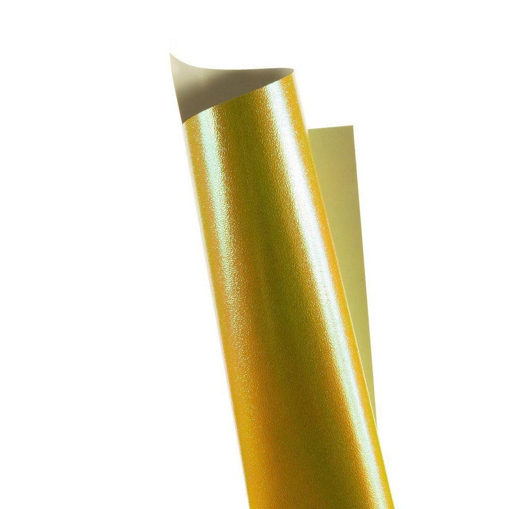 Papel Carnival Amarelo 30x30cm 170g - Unitário