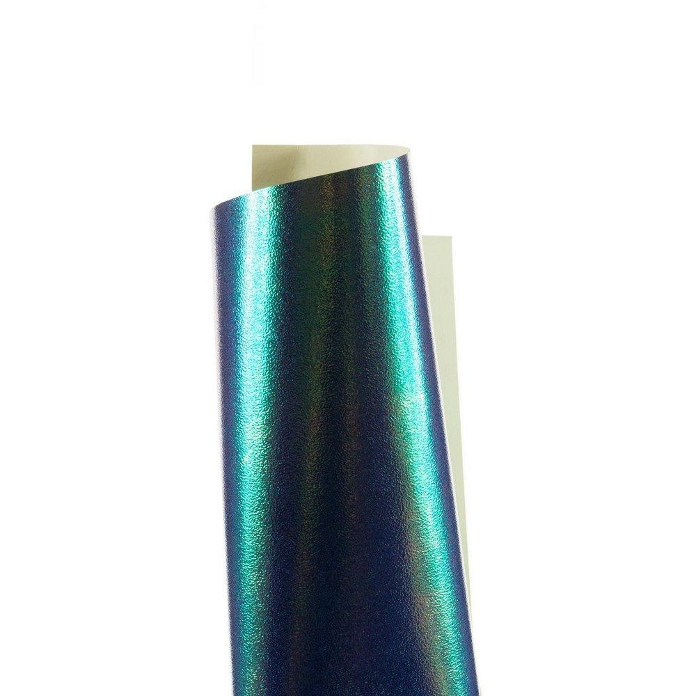Papel Carnival Azul 30x30cm 230g - Unitário