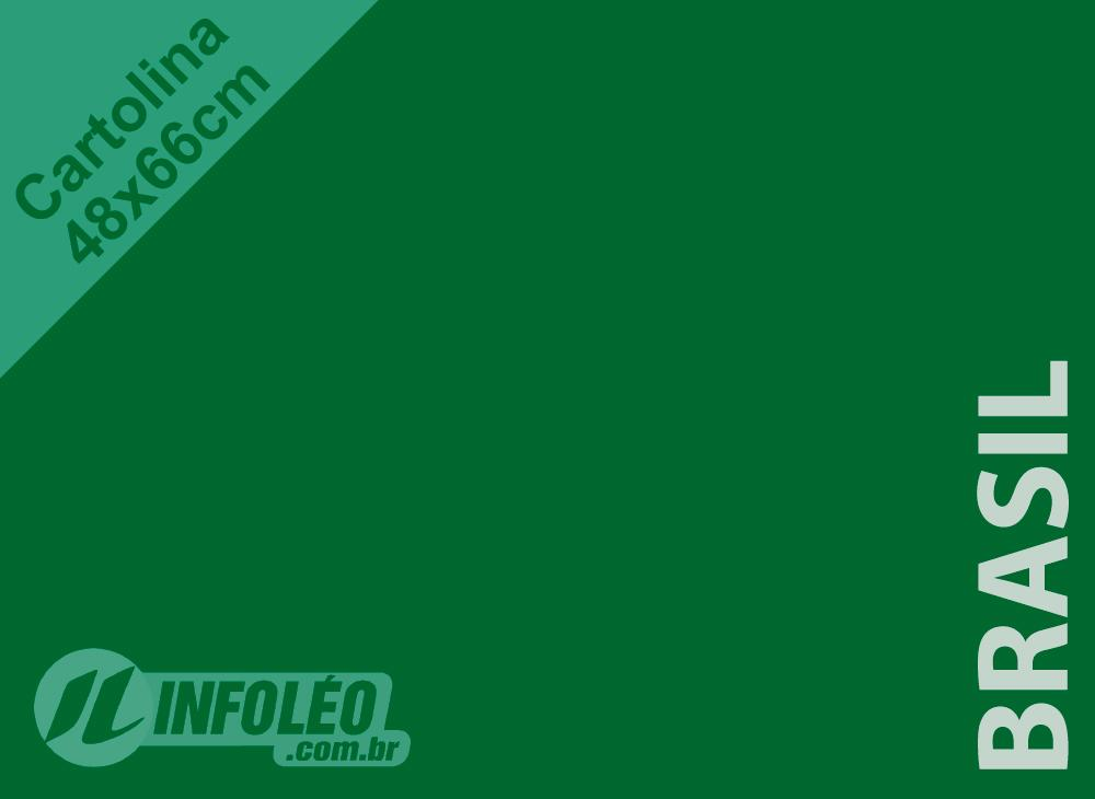 Papel Cartolina Brasil Color Plus 48x66cm 180 gramas (Apenas Motoboy)
