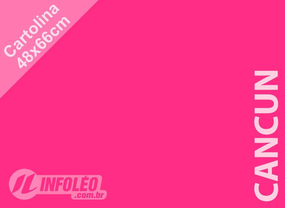Papel Cartolina Cancun Color Plus 48x66cm 180 gramas (Apenas Motoboy)