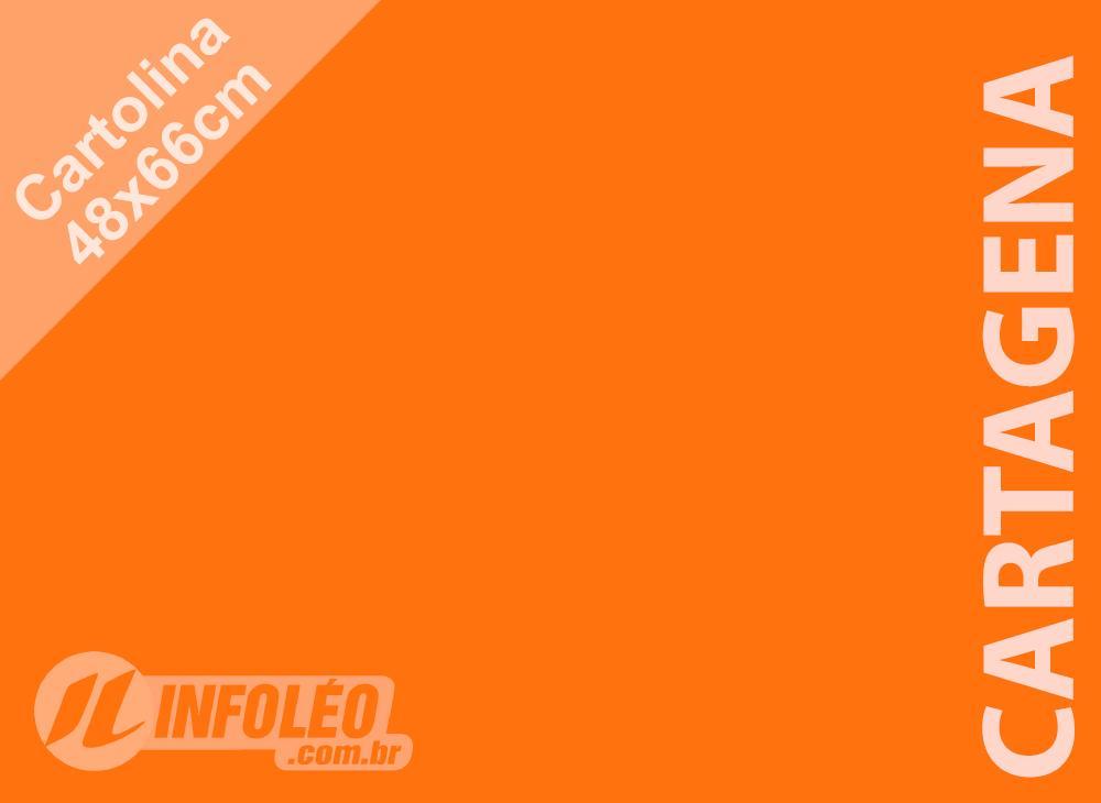 Papel Cartolina Cartagena Color Plus 48x66cm 180 gramas (Apenas Motoboy)