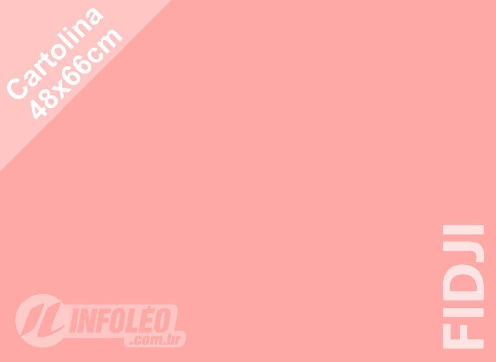 Papel Cartolina Fidji Color Plus 48x66cm 180g (Apenas Motoboy)