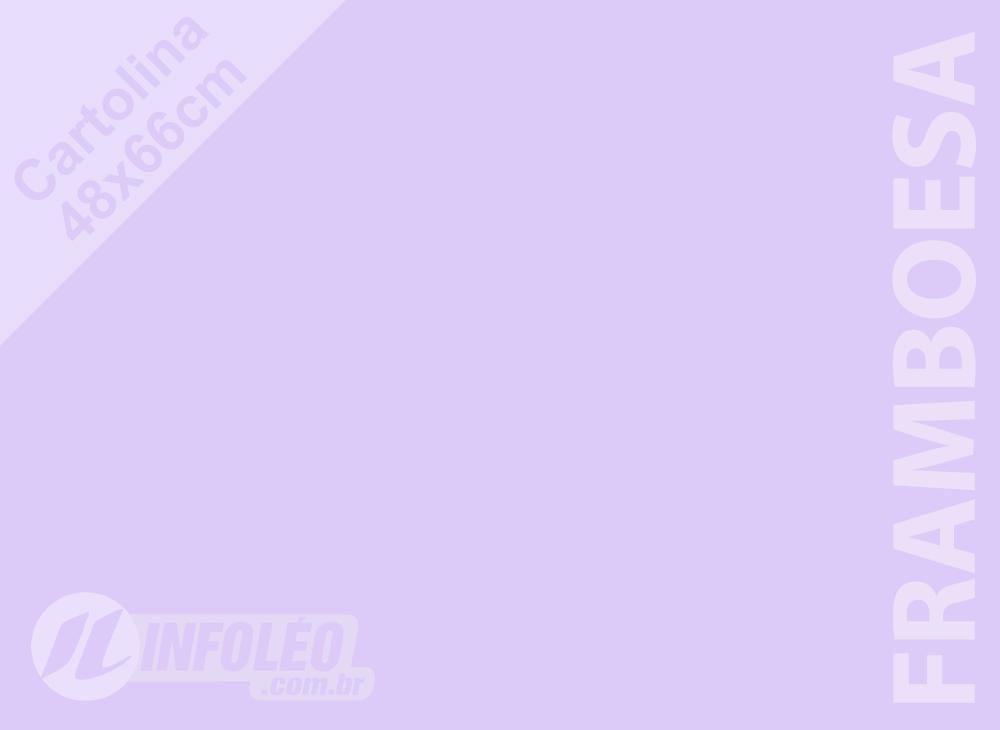 Papel Cartolina Framboesa Candy Color Plus 48x66cm 180 gramas (Apenas Motoboy)