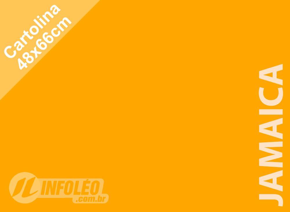 Papel Cartolina Jamaica Color Plus 48x66cm 180 gramas (Apenas Motoboy)