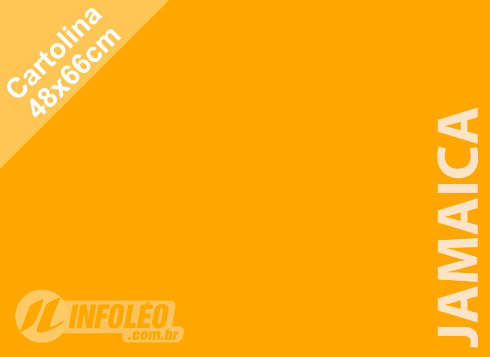 Papel Cartolina Jamaica Color Plus 48x66cm 180g (Apenas Motoboy)