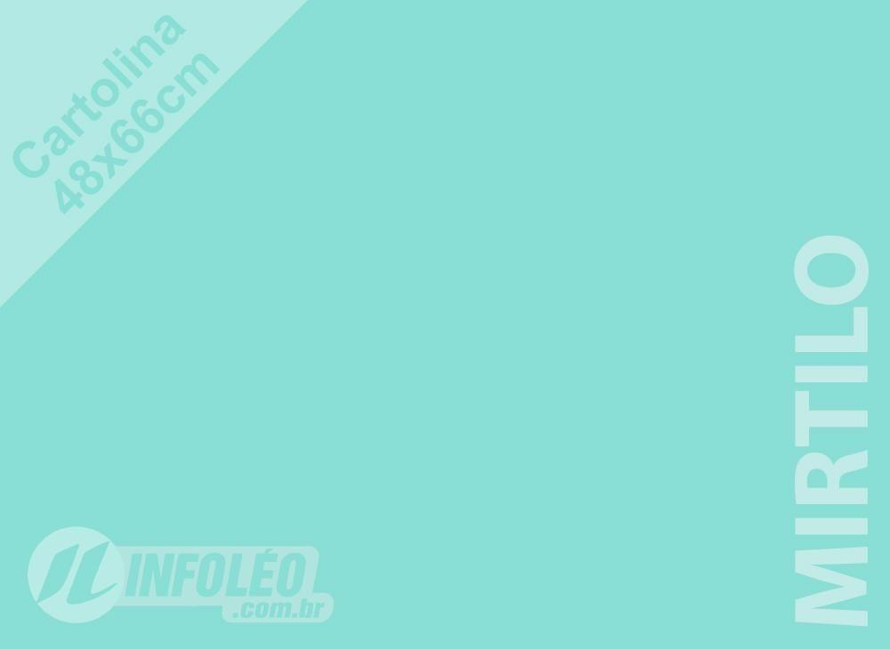 Papel Cartolina Mirtilo Candy Color Plus 48x66cm 180 gramas (Apenas Motoboy)