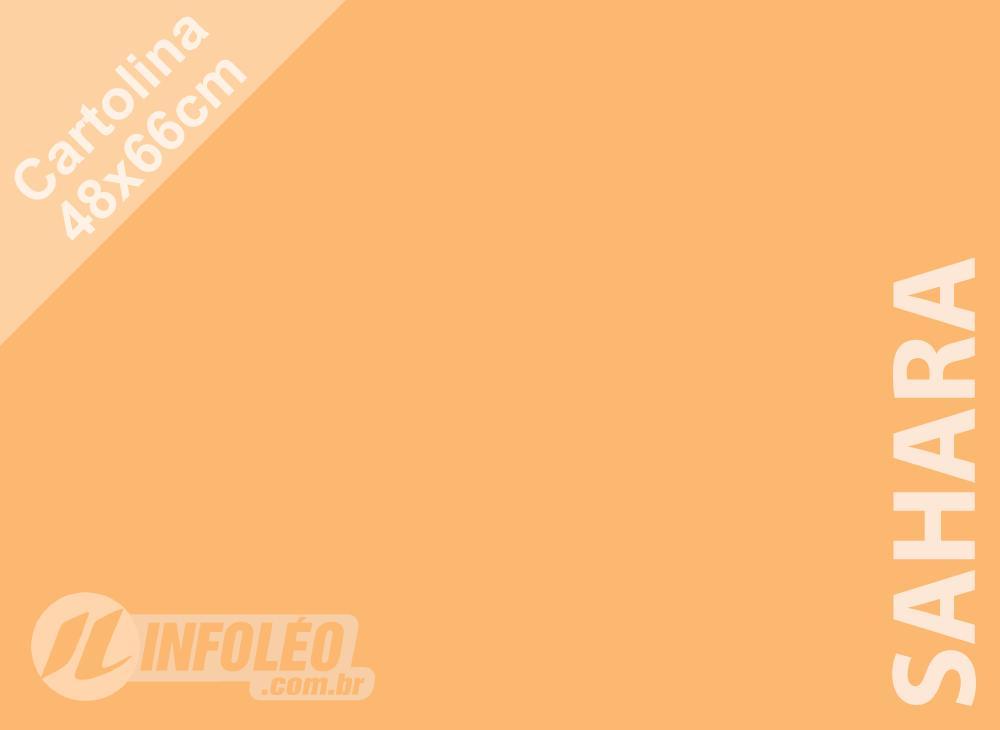 Papel Cartolina Sahara Color Plus 48x66cm 180g (Apenas Motoboy)