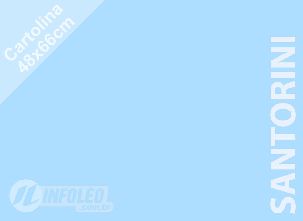 Papel Cartolina Santorini Color Plus 48x66cm 180g (Apenas Motoboy)