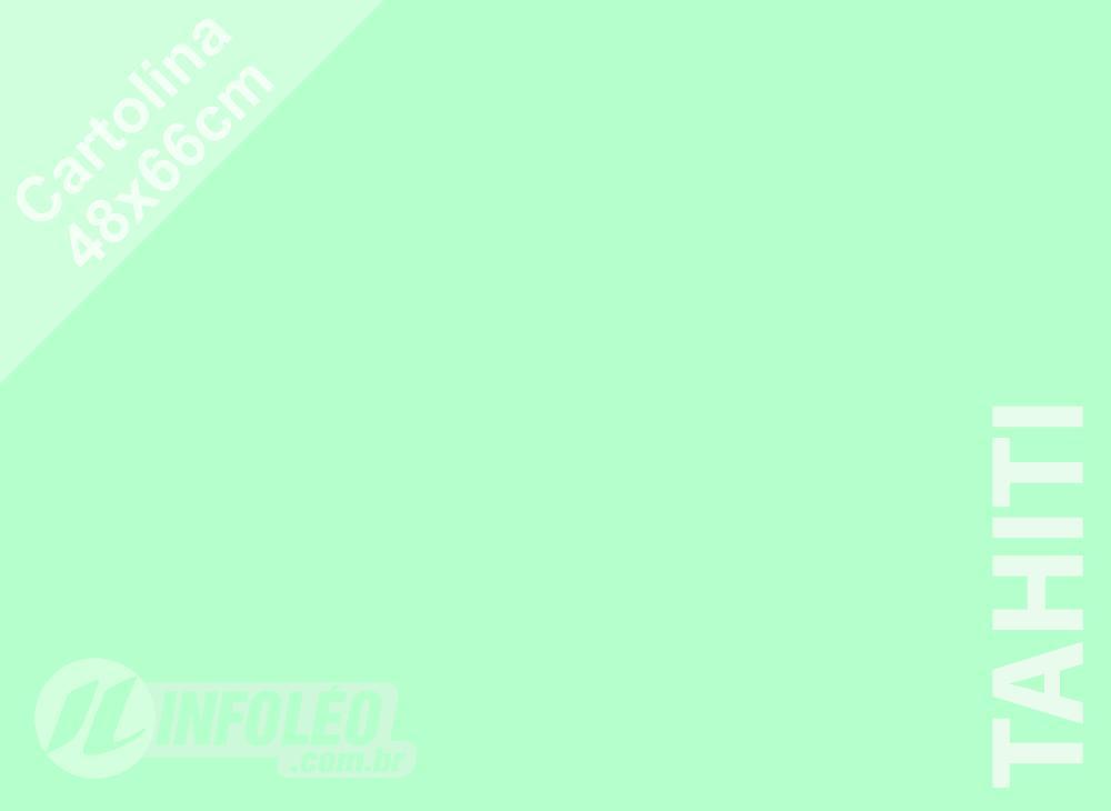 Papel Cartolina Tahiti Color Plus 48x66cm 180 gramas (Apenas Motoboy)