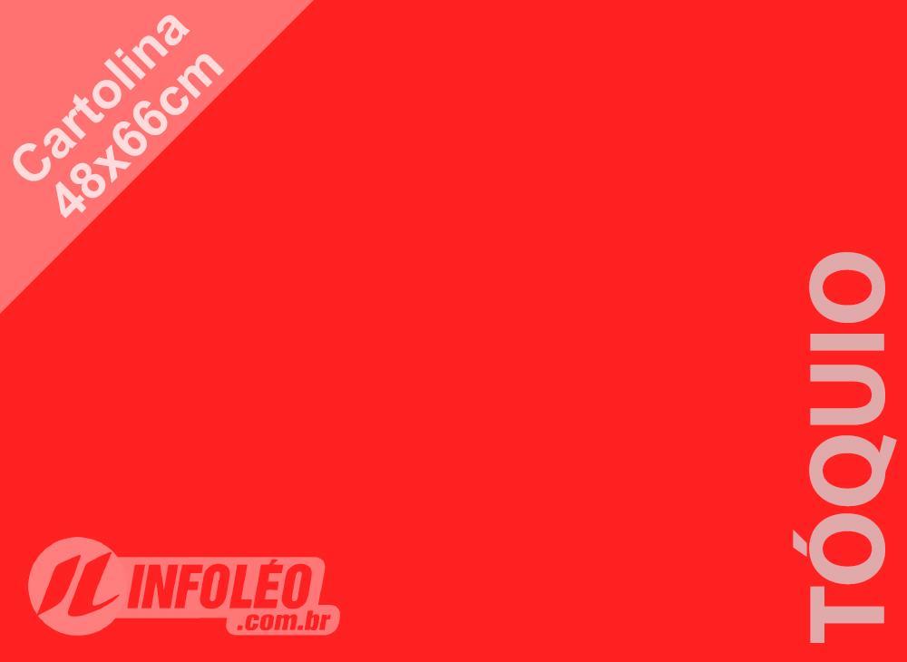 Papel Cartolina Tóquio Color Plus 48x66cm 180 gramas (Apenas Motoboy)