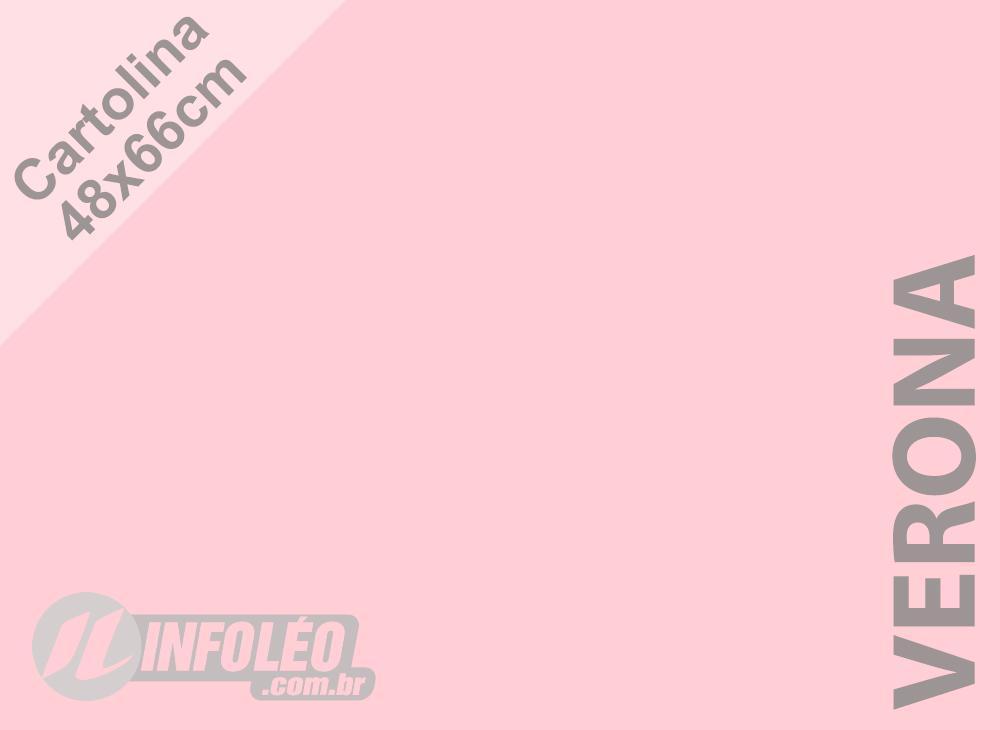 Papel Cartolina Verona Color Plus 48x66cm 180g (Apenas Motoboy)