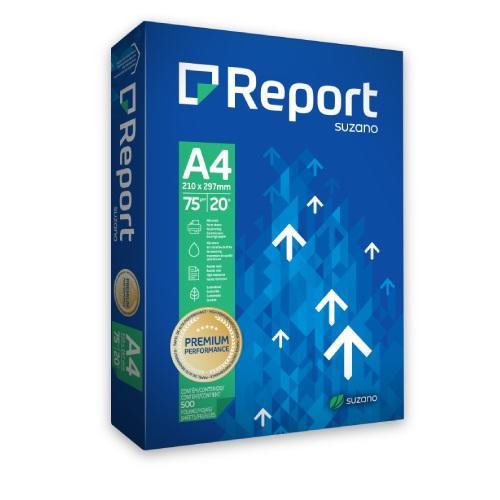 Papel Chamex Report Premium A4 75g/m2 - 500 folhas