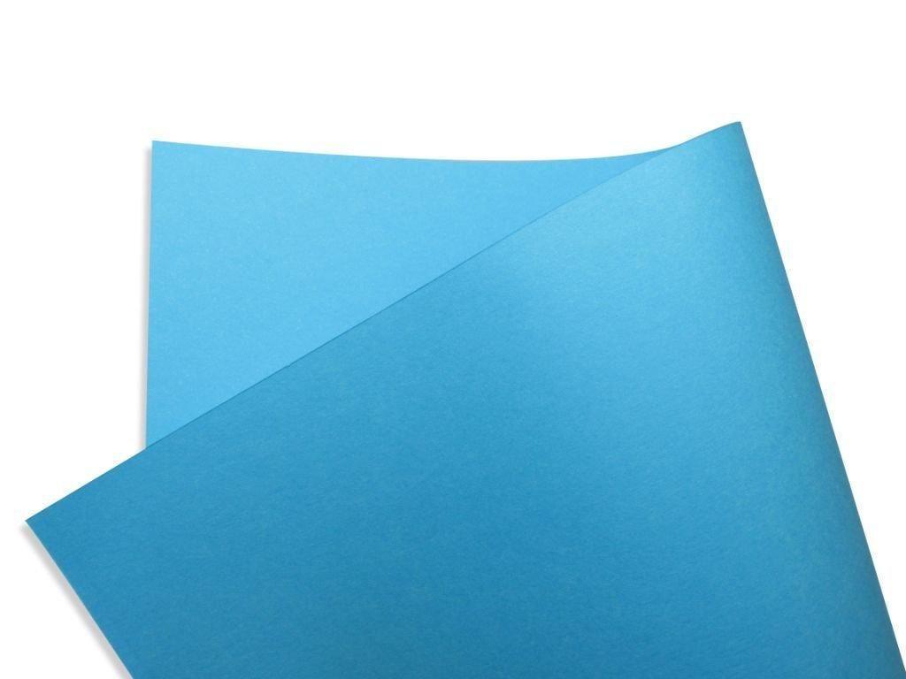 Papel Color Fluo Azul (Blue) 30x30cm 180 gramas - Unidade