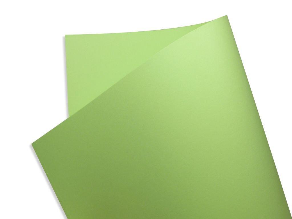 Papel Color Fluo Verde (Green) 30x30cm 180g - Unidade