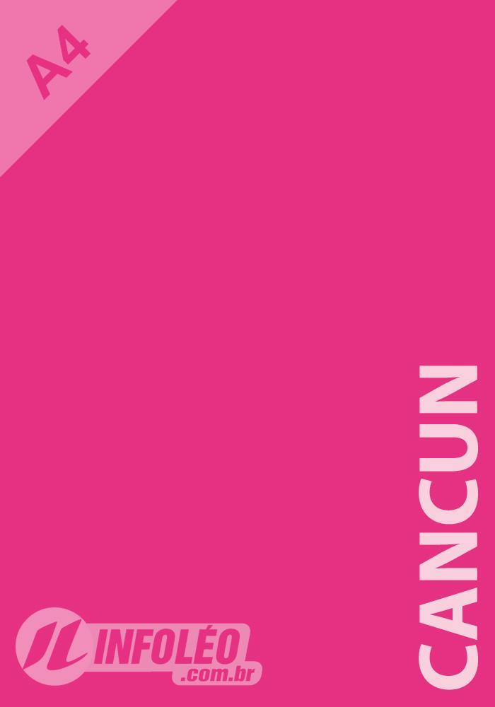 Papel Color Plus A4 180 gramas Cancun