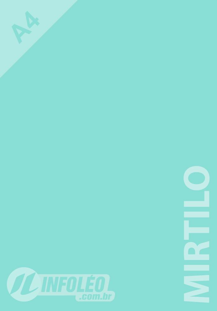 Papel Color Plus A4 180 gramas Mirtilo Candy