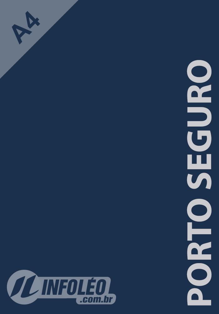 Papel Color Plus A4 180 gramas Porto Seguro (Azul Marinho)