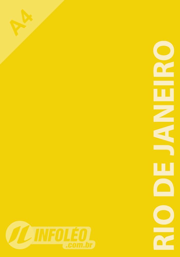 Papel Color Plus A4 180 gramas Rio de Janeiro (Amarelo)