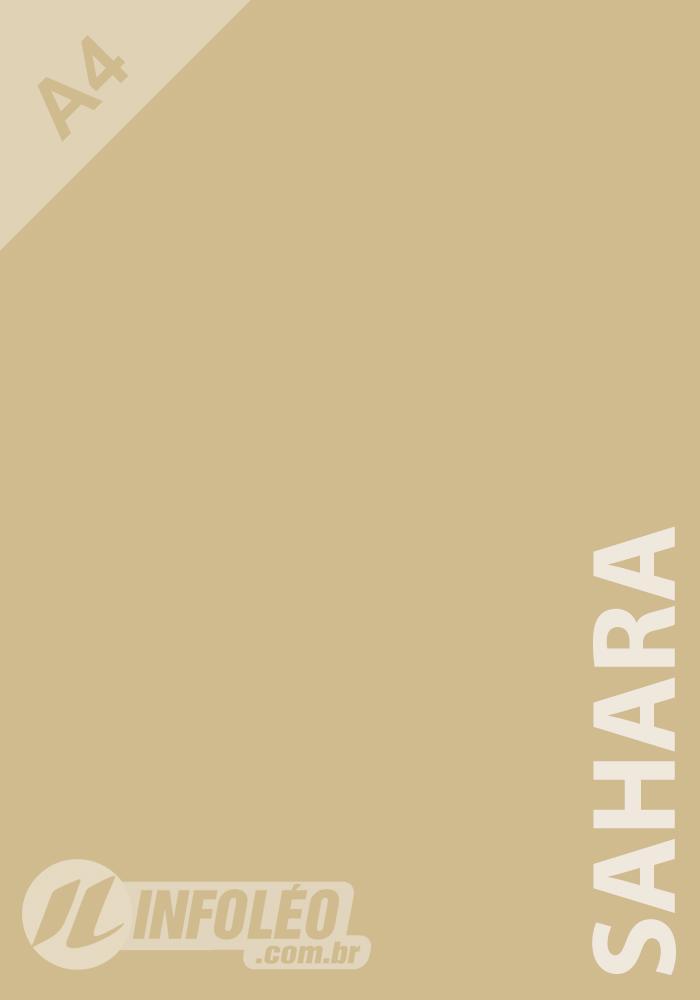 Papel Color Plus A4 180 gramas Sahara (Palha)