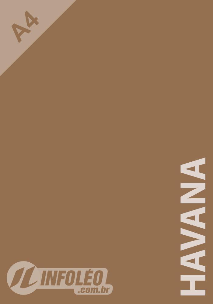 Papel Color Plus A4 180g Havana