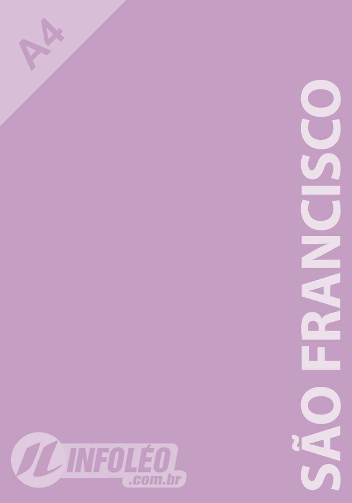 Papel Color Plus A4 180g São Francisco