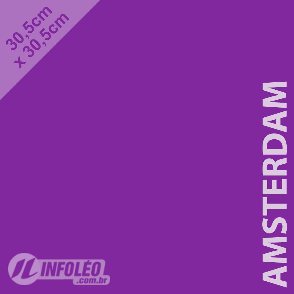 Papel Color Plus Amsterdam (Roxo) 30x30 180 gramas - Unidade