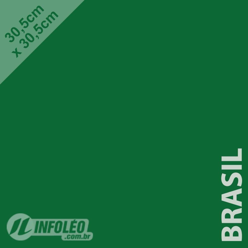 Papel Color Plus Brasil (Verde Bandeira) 30x30 180 gramas - Unidade