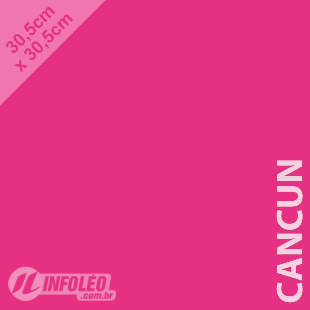 Papel Color Plus Cancun (Rosa Pink) 30x30 180 gramas - Unidade