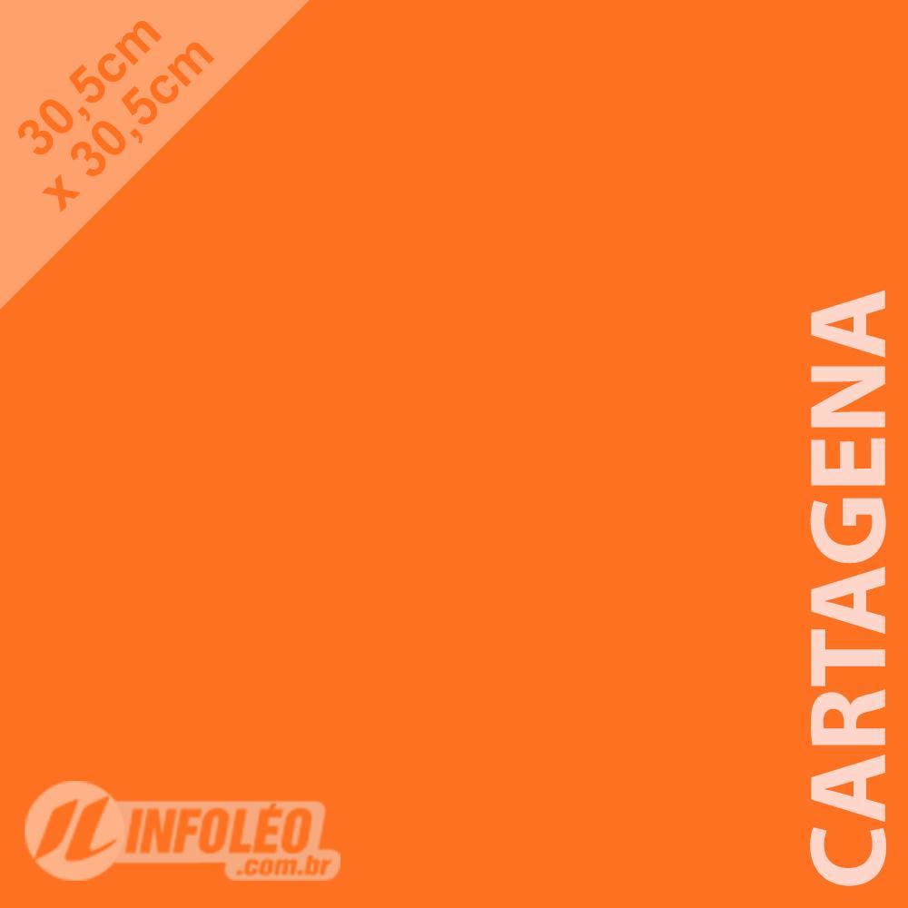 Papel Color Plus Cartagena (Laranja) 30x30 180 gramas - Unidade