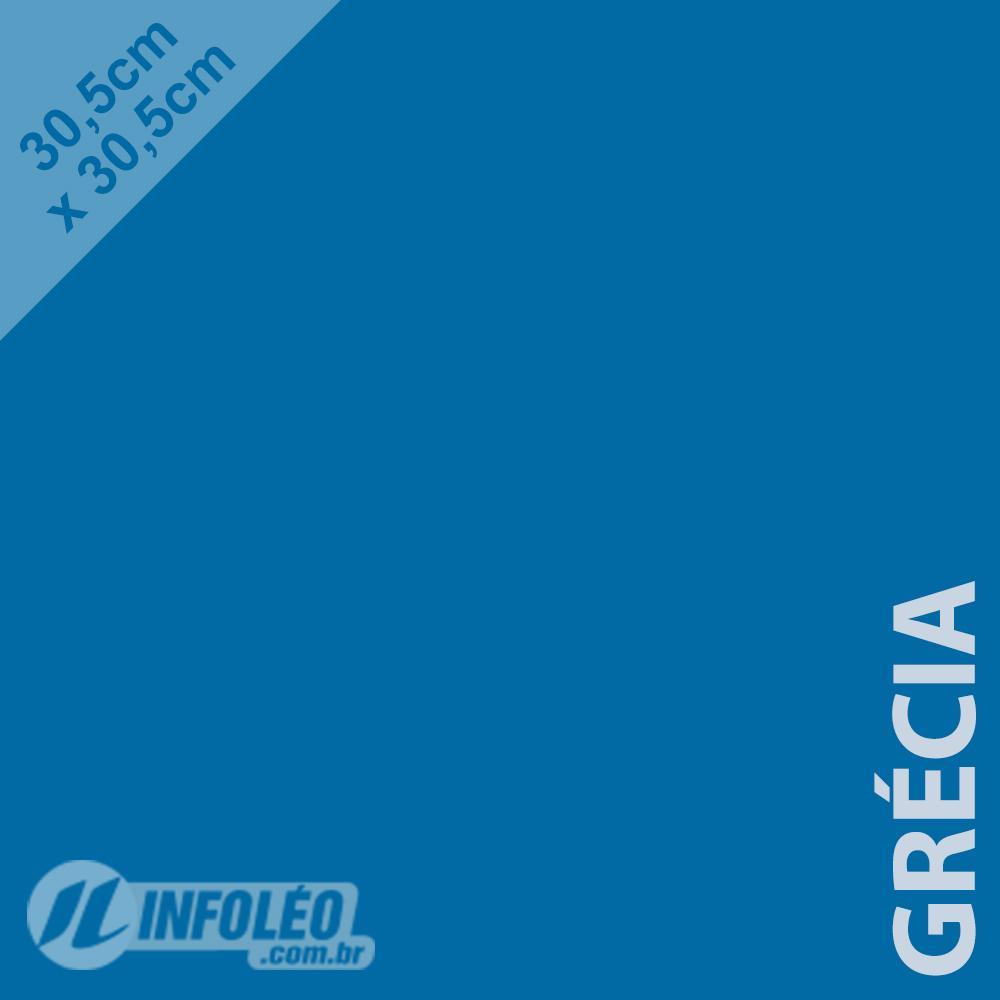 Papel Color Plus Grécia (Azul Royal) 30x30 180 gramas - Unidade