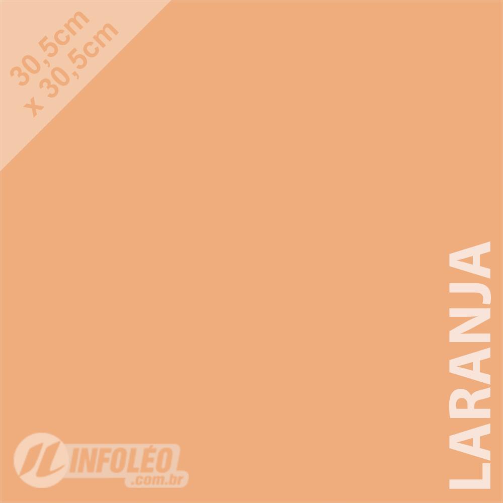 Papel Color Plus Laranja Candy 30x30 180 gramas - Unidade