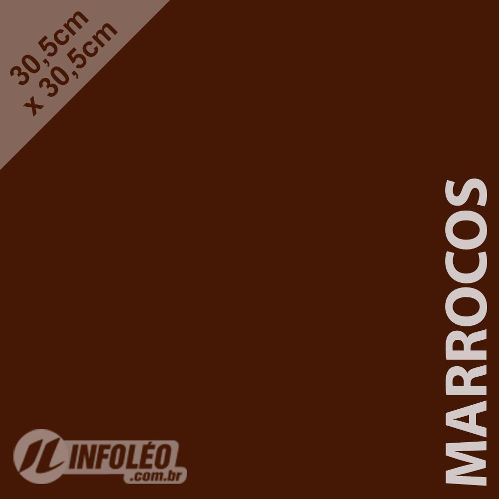 Papel Color Plus Marrocos (Marrom Escuro) 30x30 180 gramas - Unidade