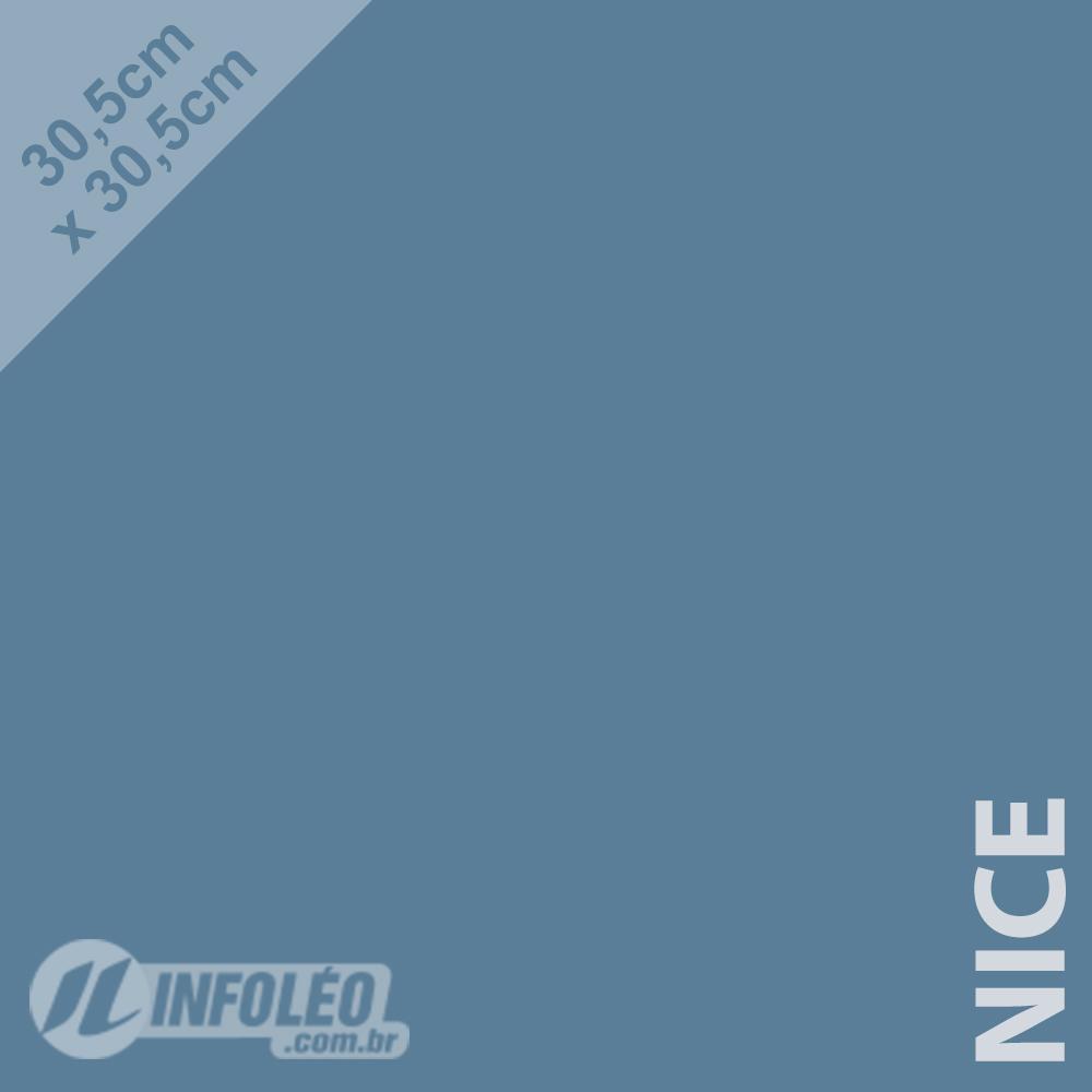 Papel Color Plus Nice (Azul Acinzentado) 30x30 180 gramas - Unidade