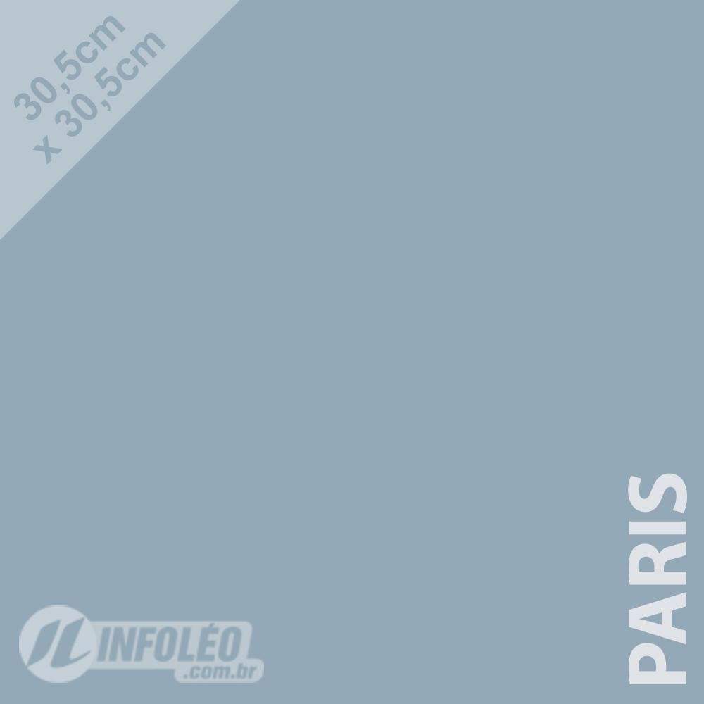 Papel Color Plus Paris (Azul Claro) 30x30 180 gramas - Unidade