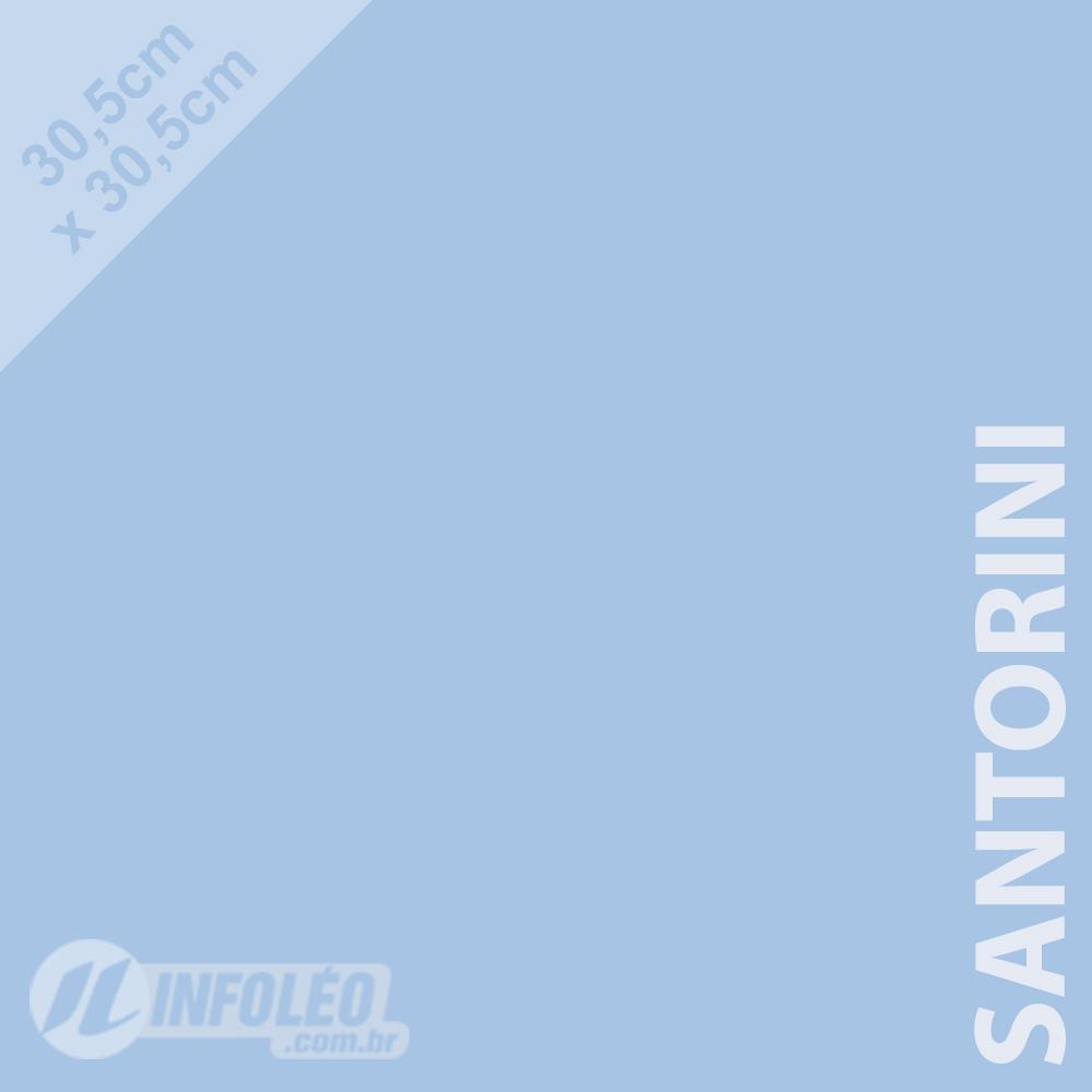 Papel Color Plus Santorini (Azul Bebê) 30x30 180 gramas - Unidade