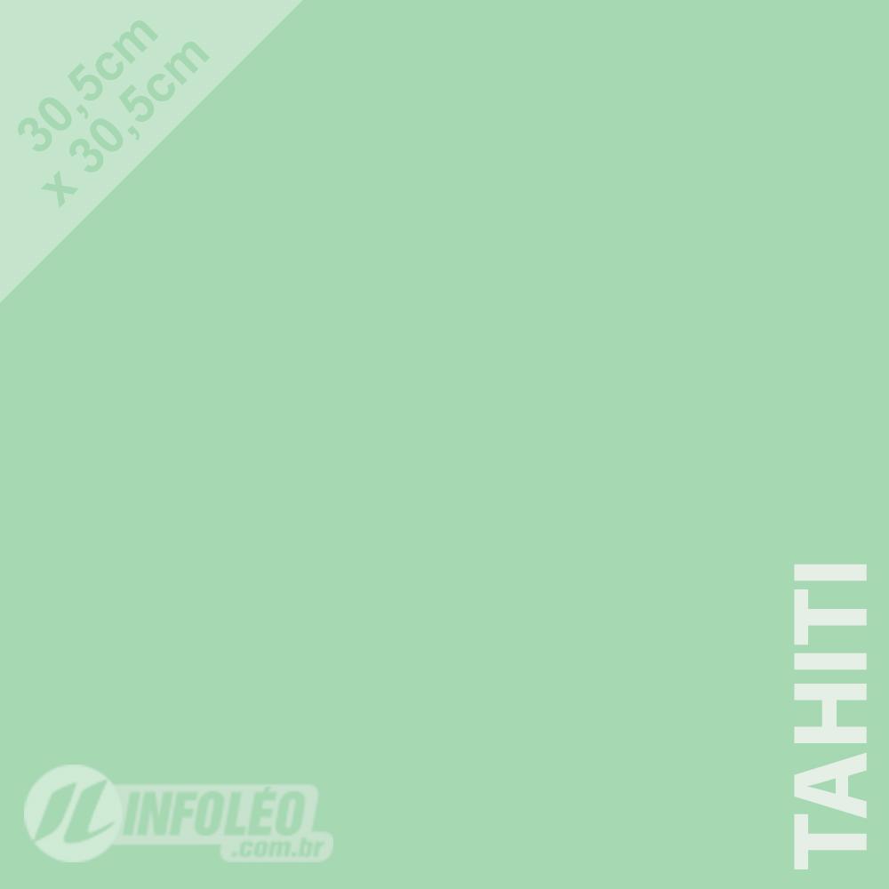Papel Color Plus Tahiti (Verde Água) 30x30 180 gramas - Unidade