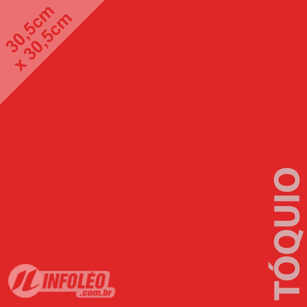 Papel Color Plus Tóquio (Vermelho) 30x30 180 gramas - Unidade