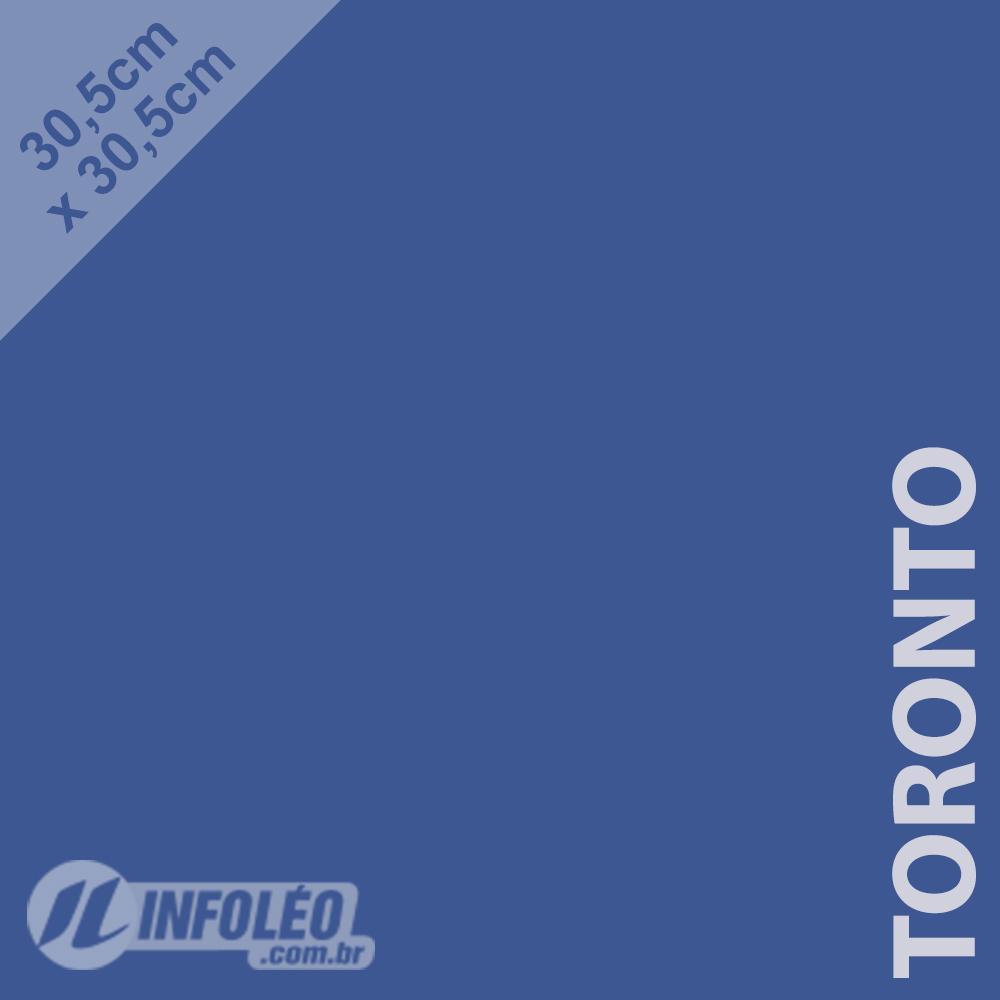 Papel Color Plus Toronto (Azul Escuro) 30x30 180 gramas - Unidade