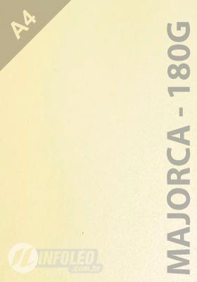 Papel CP Metalico 180 gramas A4 Majorca - 10 Folhas