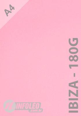 Papel CP Metalizado A4 180 gramas Ibiza - 10 Folhas