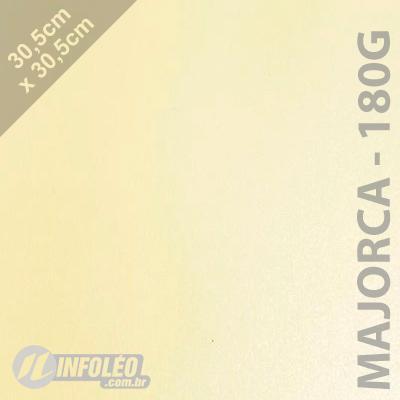 Papel CP Metalizado Majorca 180 gramas 30x30cm- Unitário