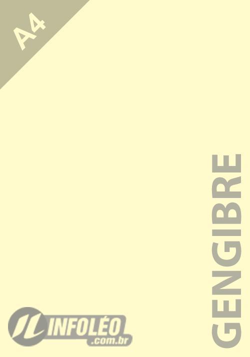 Papel Criacor A4 180g Gengibre