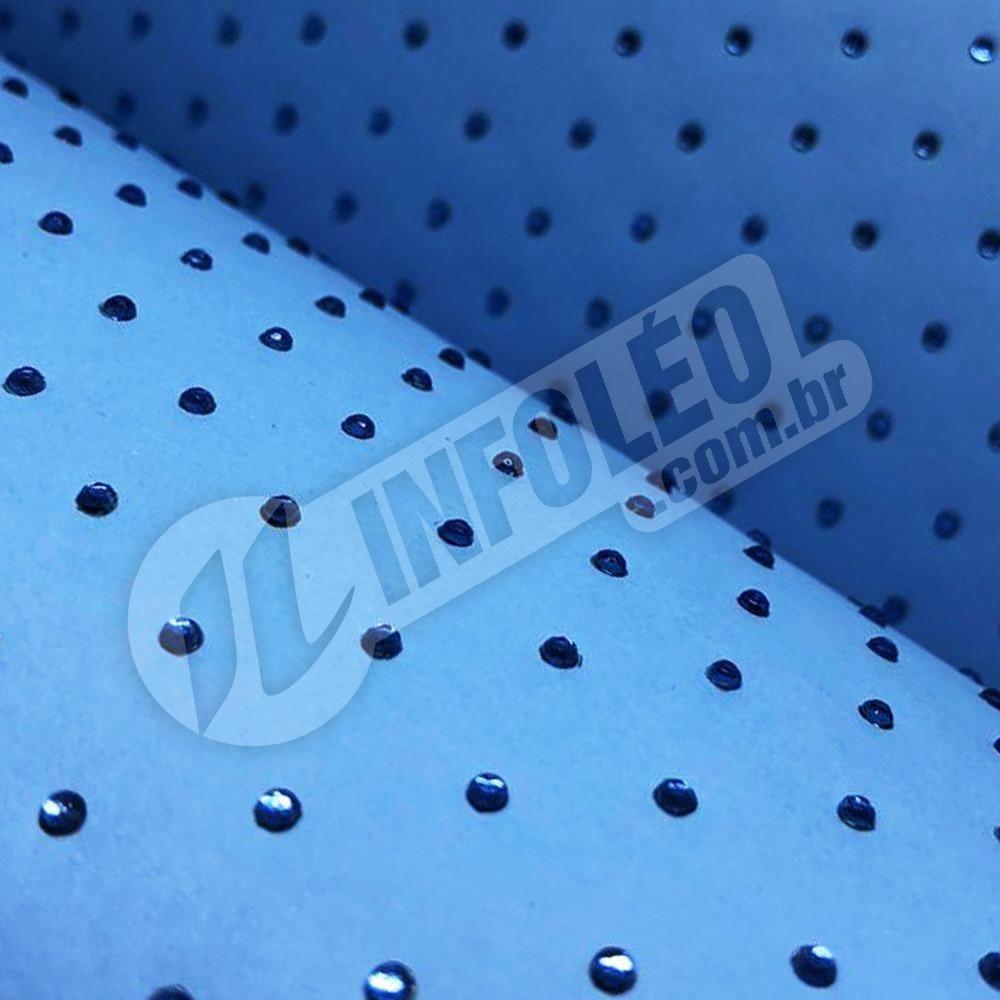 Papel Cristal Paper Azul Santorini C/ Strass 30x30cm 180 gramas - 0015