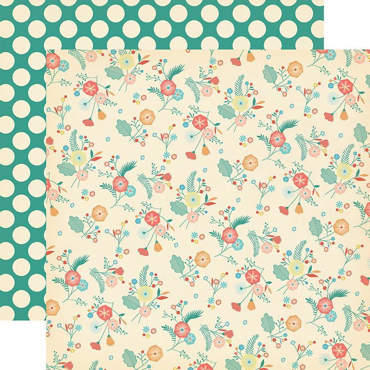 Papel Decor City Flowers - CBMG60005