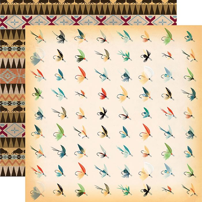 Papel Decor Fish Flies - CBGO55006