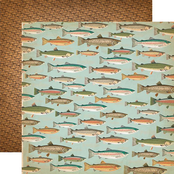 Papel Decor Gone Fishing - CBGO55012