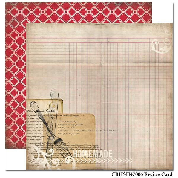Papel Decor Recipe Card - CBHSH47006