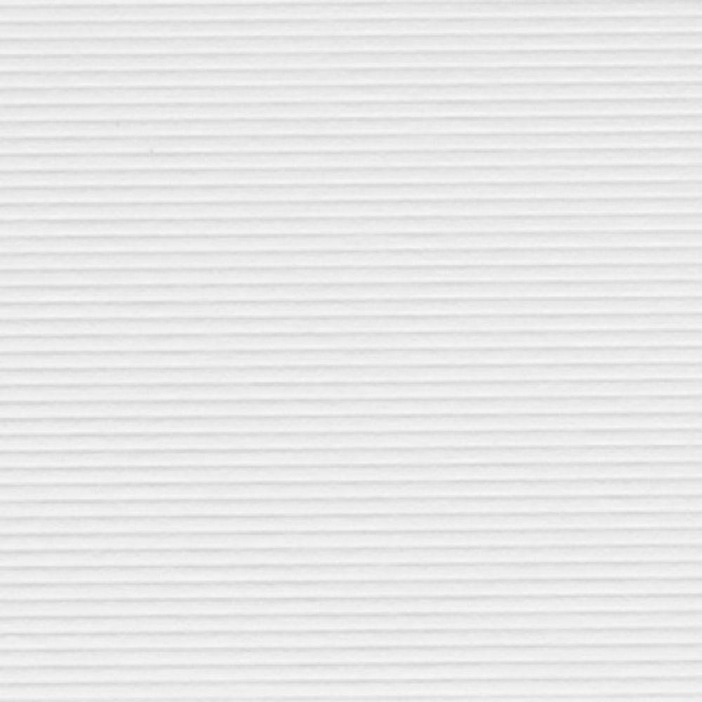 Papel Evenglow Microtelê Texturizado Opalina Branco 30x30cm 180 gramas