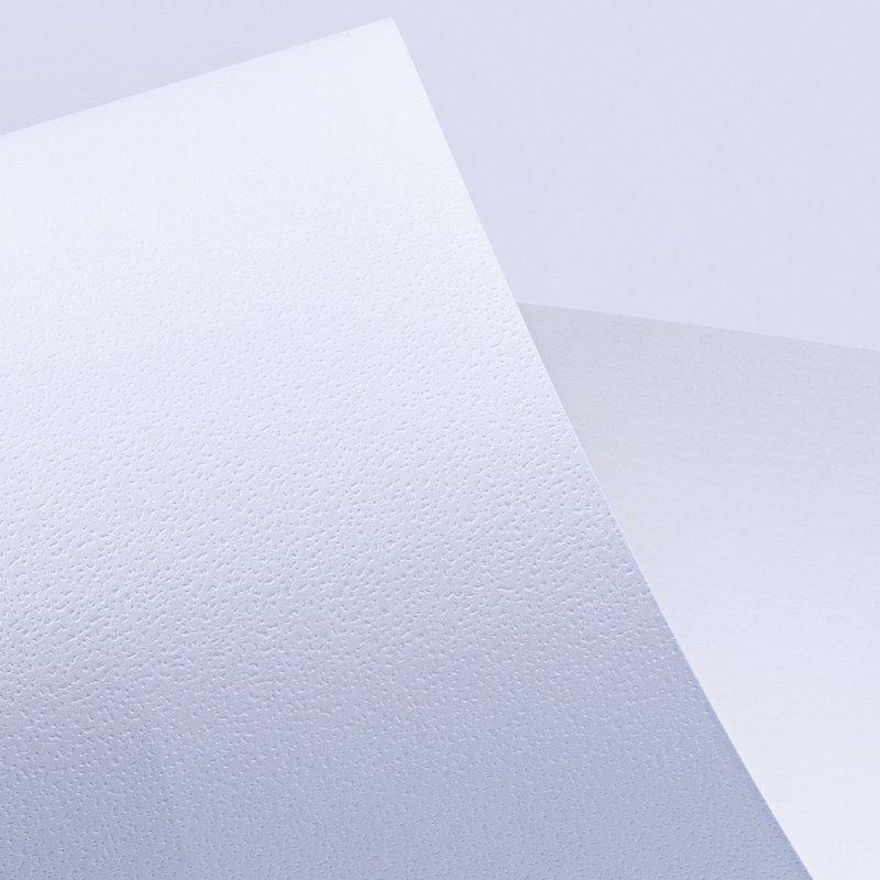 Papel Evenglow Opalina Texturizado Dapple Branco 30x30cm 180 gramas
