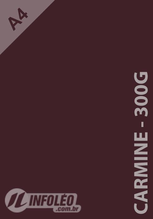 Papel Keaykolour A4 300g Carmine